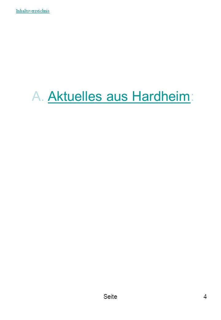Aktuelles aus Hardheim: