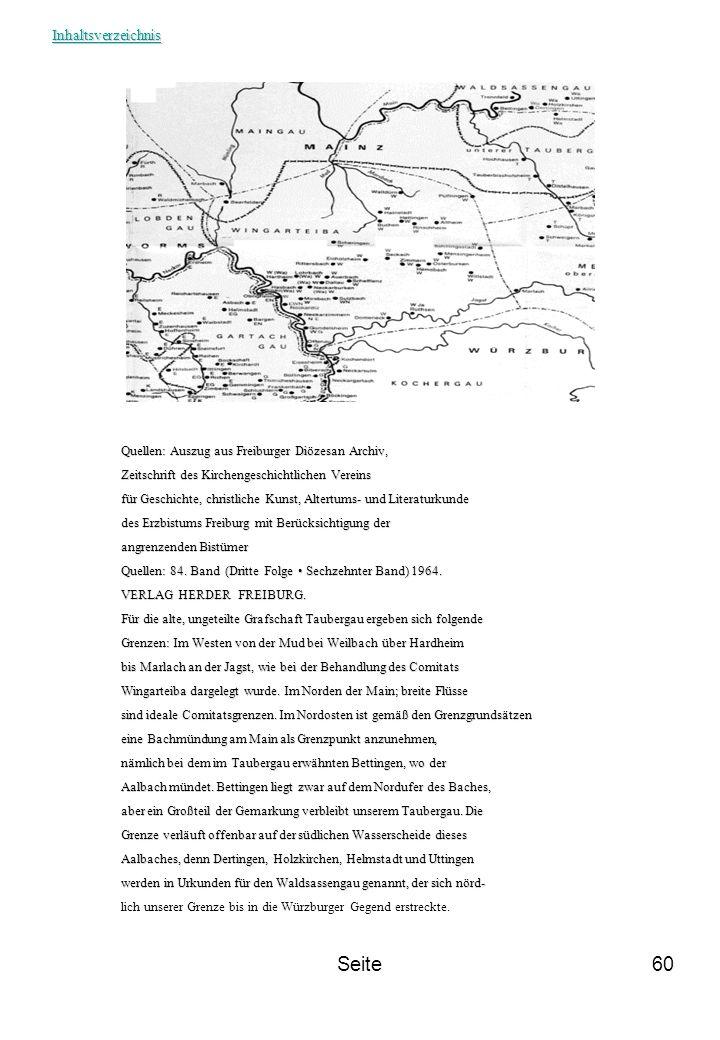 Seite Inhaltsverzeichnis