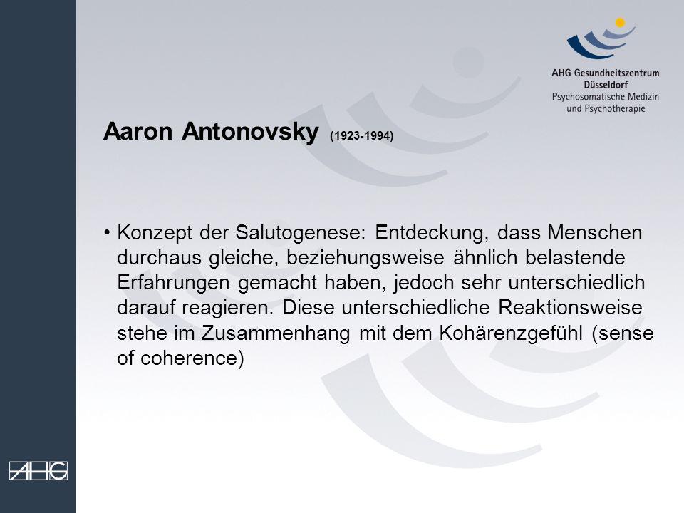 Aaron Antonovsky (1923-1994)