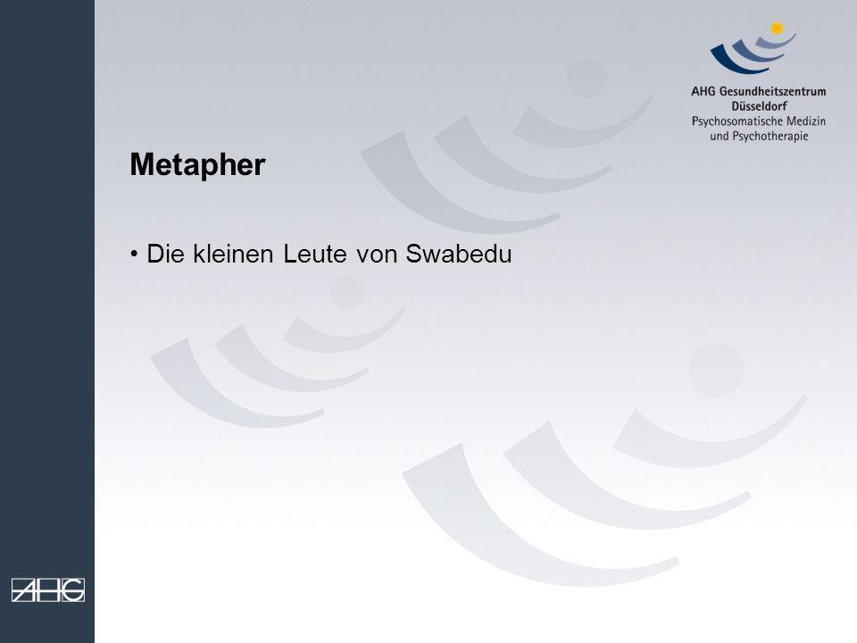 Metapher Die kleinen Leute von Swabedu