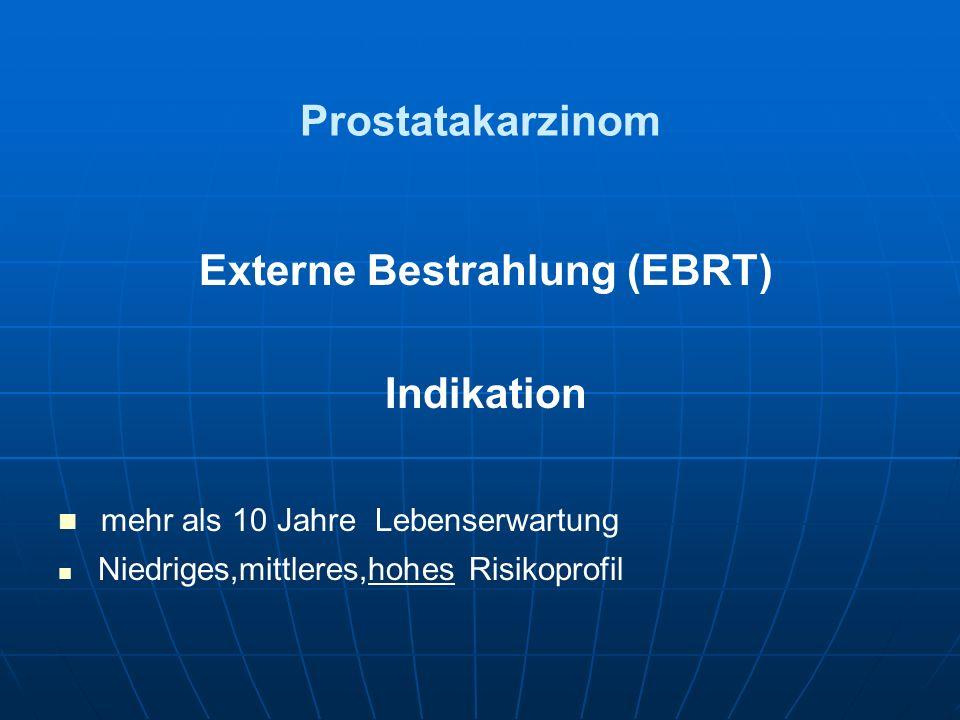 Externe Bestrahlung (EBRT)