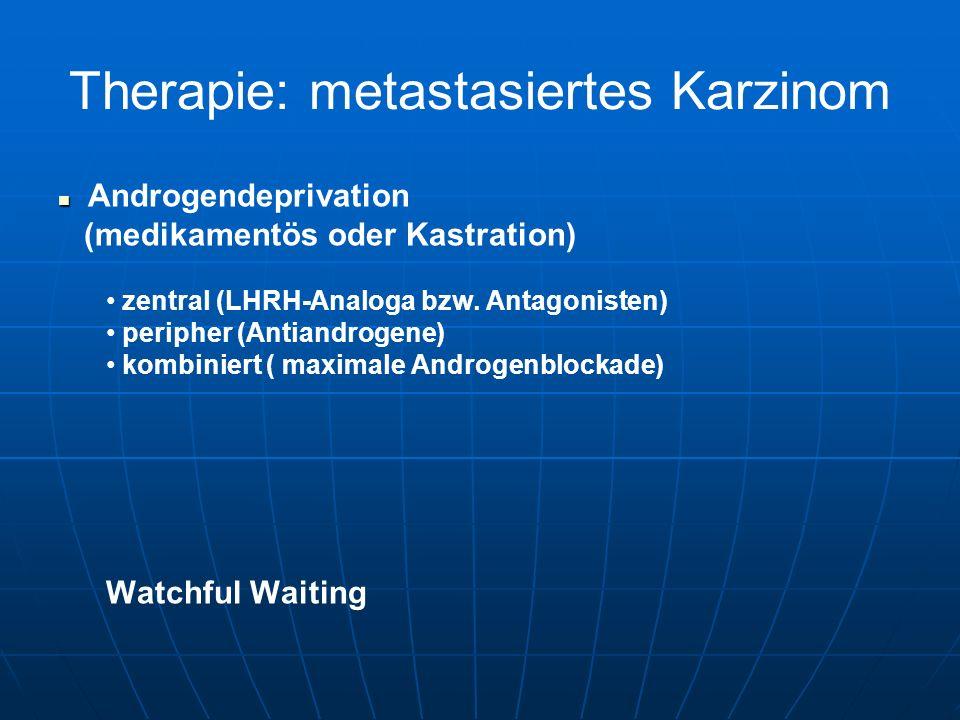 Therapie: metastasiertes Karzinom
