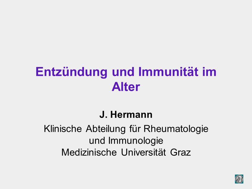 Entzündung und Immunität im Alter