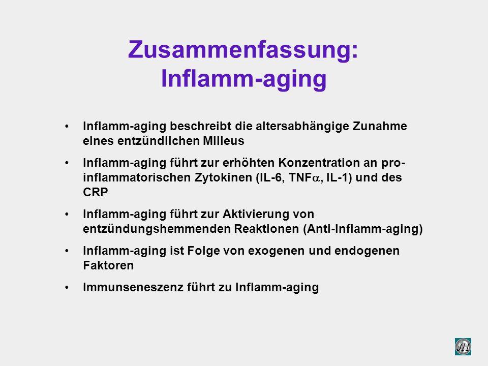 Zusammenfassung: Inflamm-aging