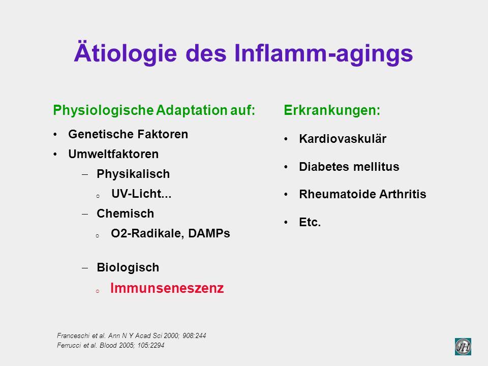 Ätiologie des Inflamm-agings