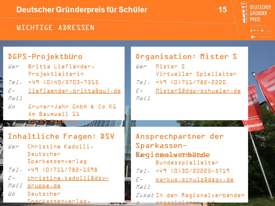 Organisation: Mister S
