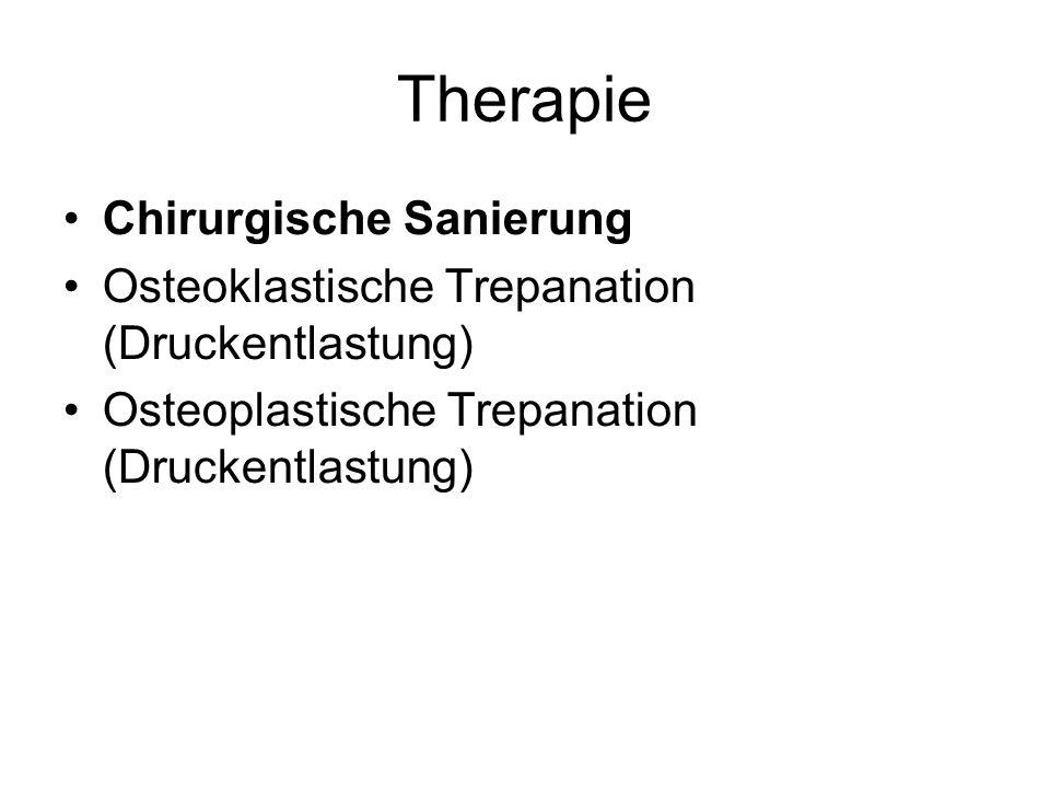 Therapie Chirurgische Sanierung