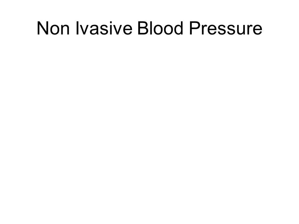 Non Ivasive Blood Pressure
