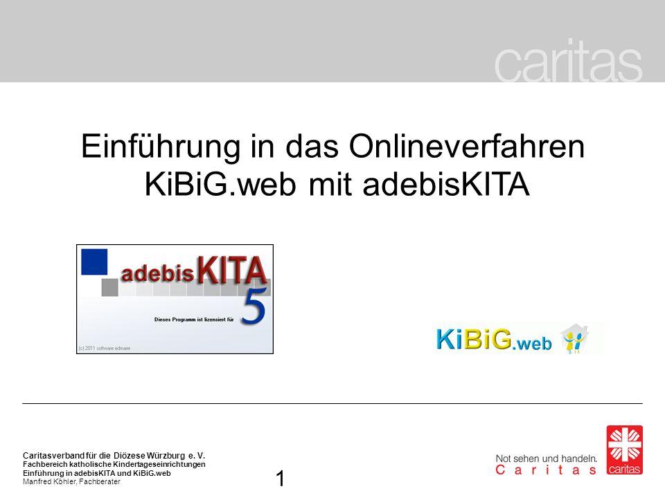 Einführung in das Onlineverfahren KiBiG.web mit adebisKITA