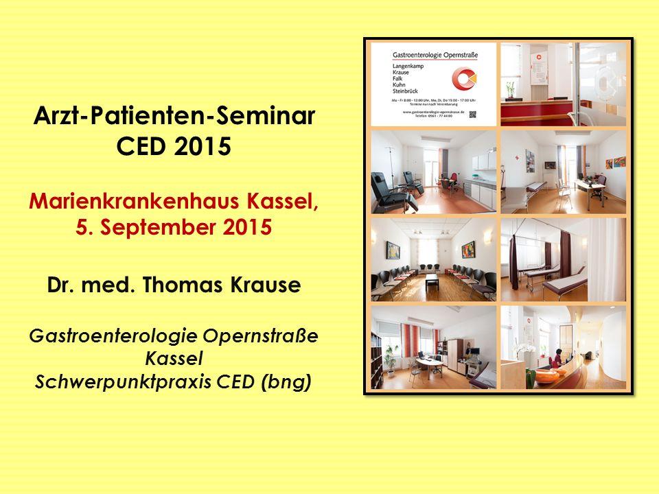 Arzt-Patienten-Seminar CED 2015