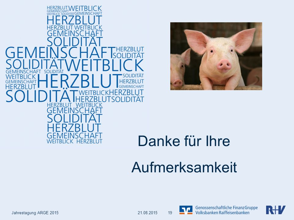 Backup Jahrestagung ARGE 2015 21.08.2015