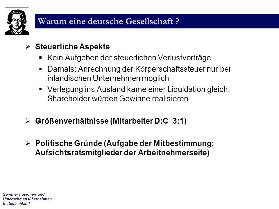 Warum eine deutsche Gesellschaft