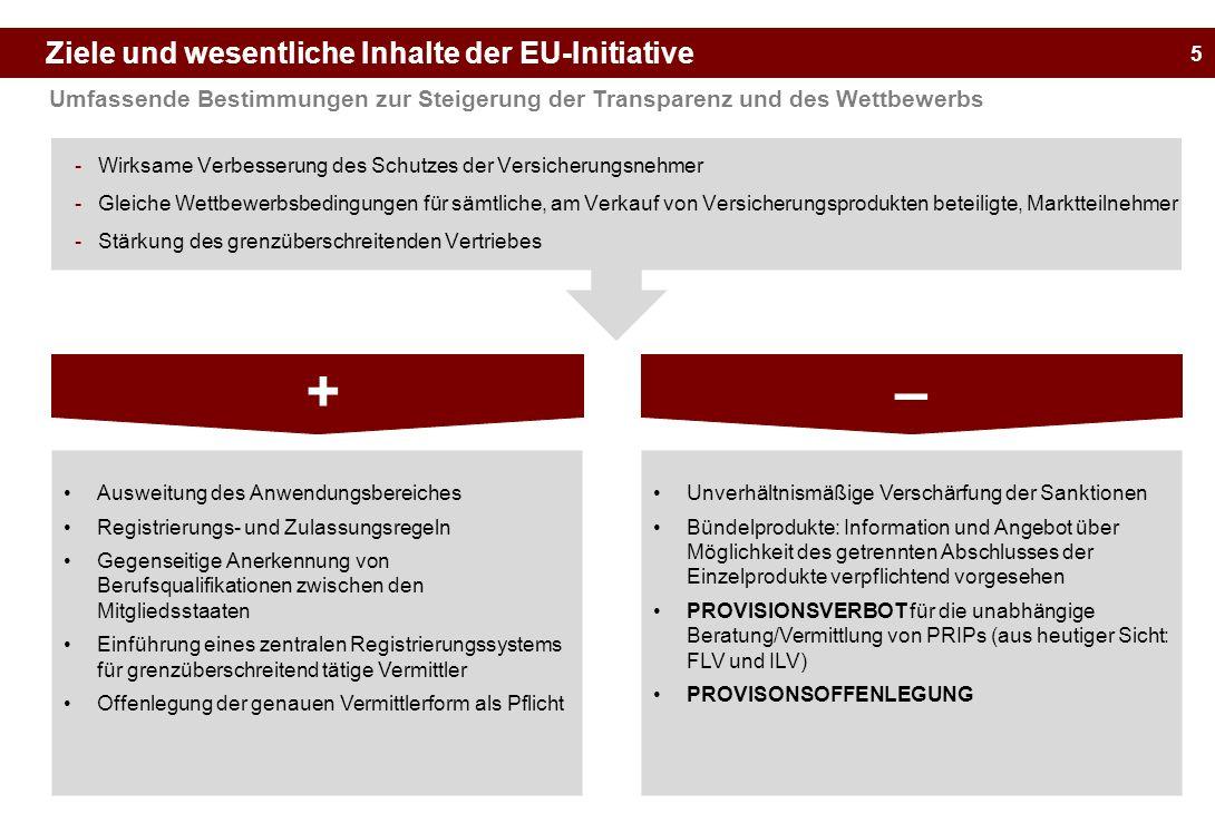 + – Ziele und wesentliche Inhalte der EU-Initiative