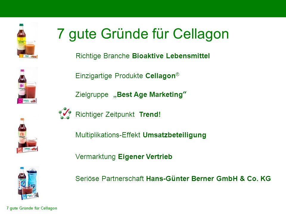 7 gute Gründe für Cellagon