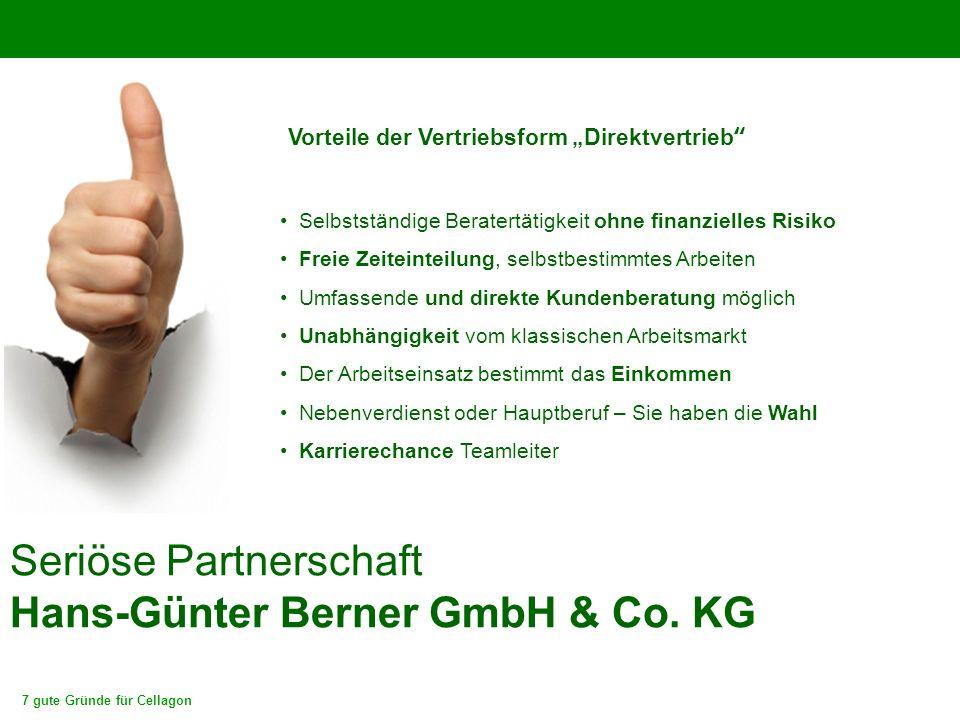 Seriöse Partnerschaft Hans-Günter Berner GmbH & Co. KG