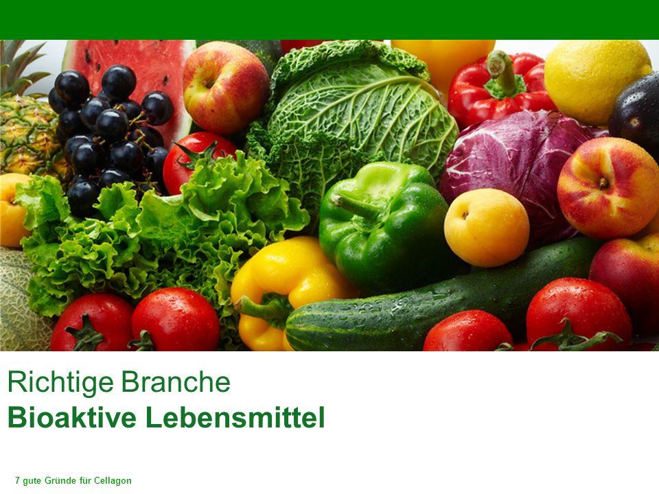 Richtige Branche Bioaktive Lebensmittel