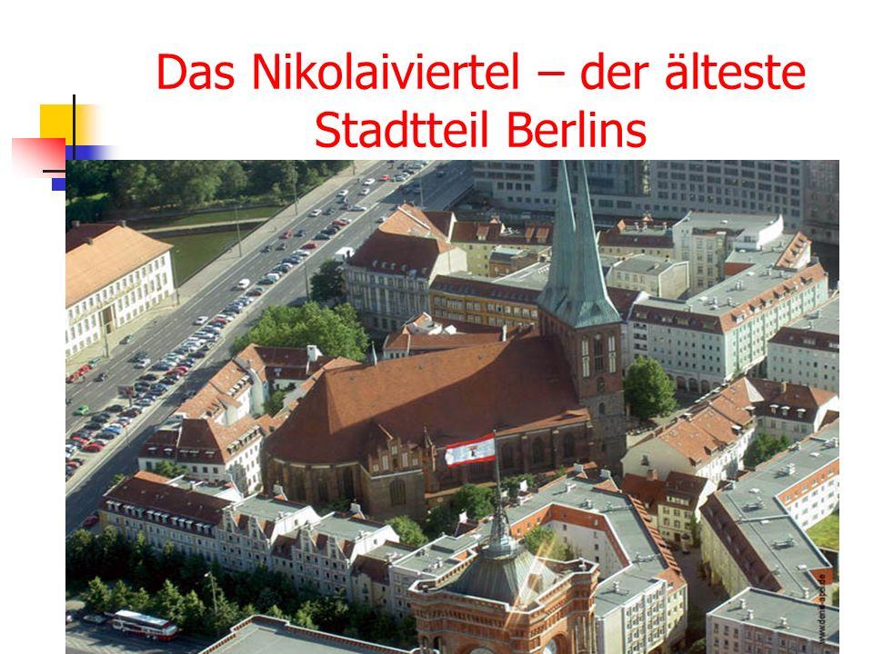 Das Nikolaiviertel – der älteste Stadtteil Berlins