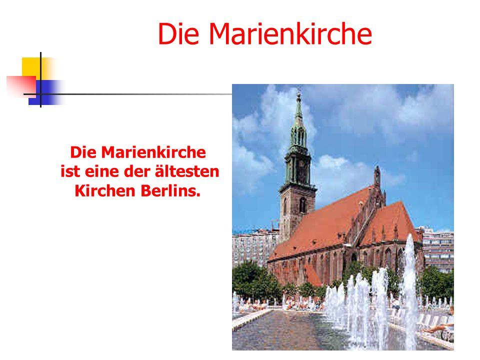 ist eine der ältesten Kirchen Berlins.