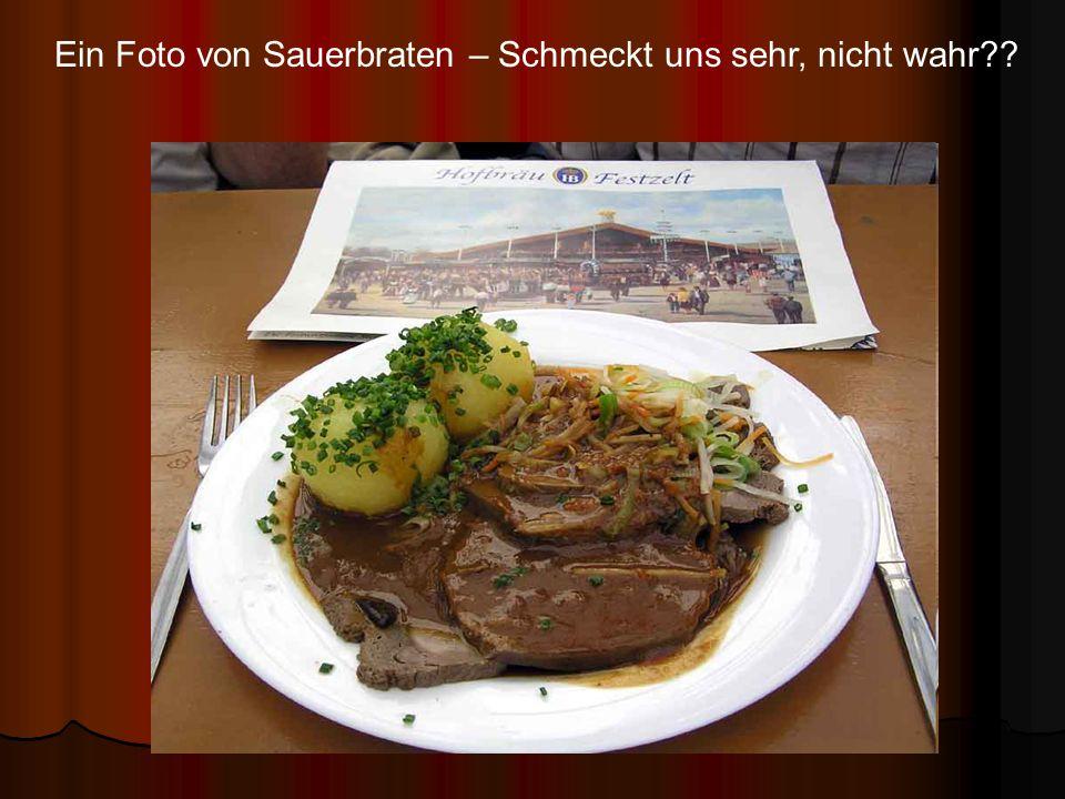 Ein Foto von Sauerbraten – Schmeckt uns sehr, nicht wahr