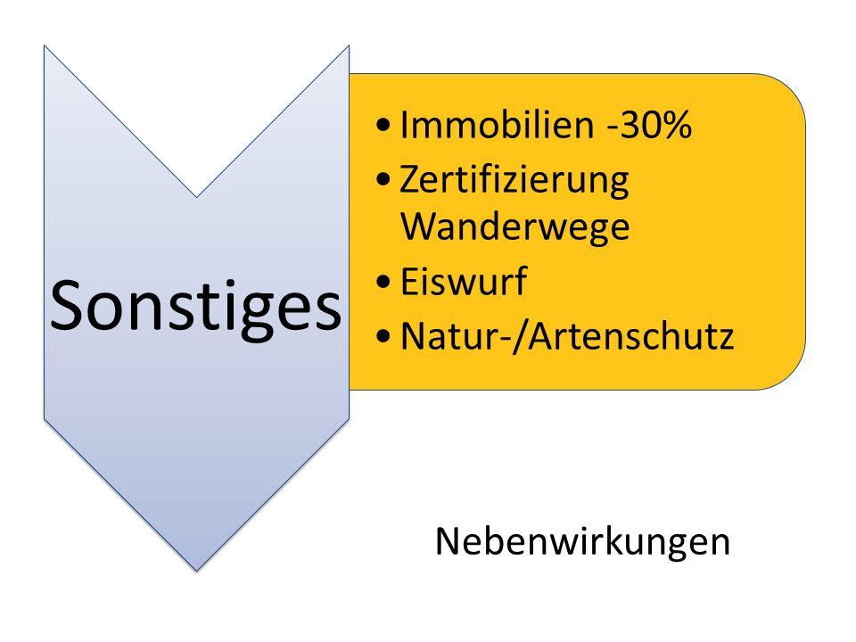 Zertifizierung Wanderwege Eiswurf Natur-/Artenschutz