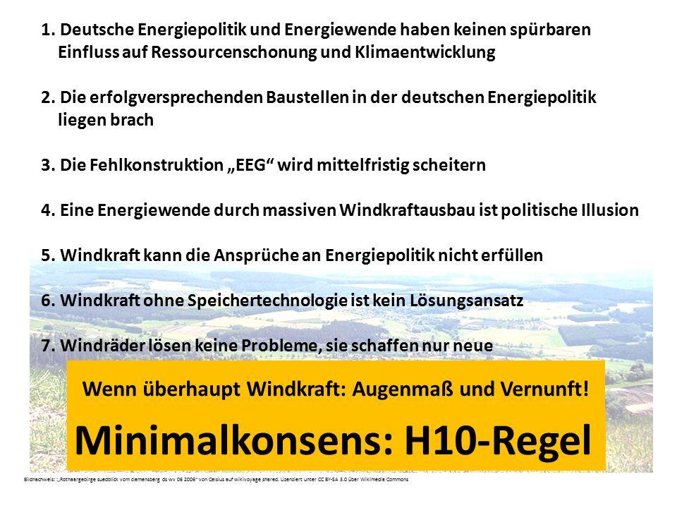 Wenn überhaupt Windkraft: Augenmaß und Vernunft!