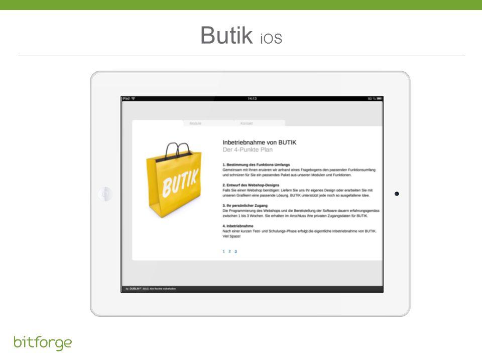 Butik iOS