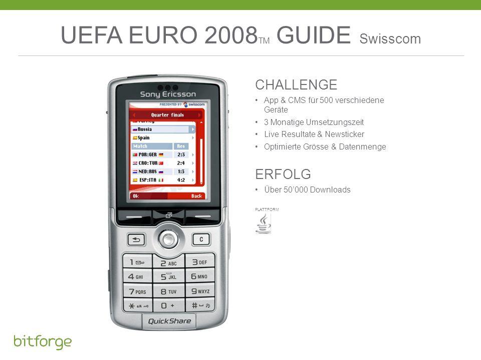 UEFA EURO 2008TM GUIDE Swisscom