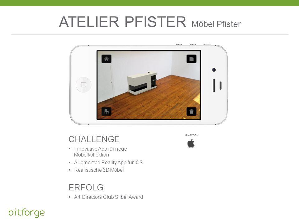 ATELIER PFISTER Möbel Pfister