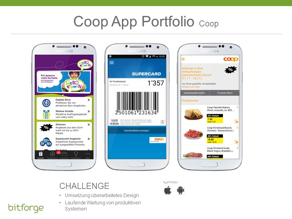 Coop App Portfolio Coop