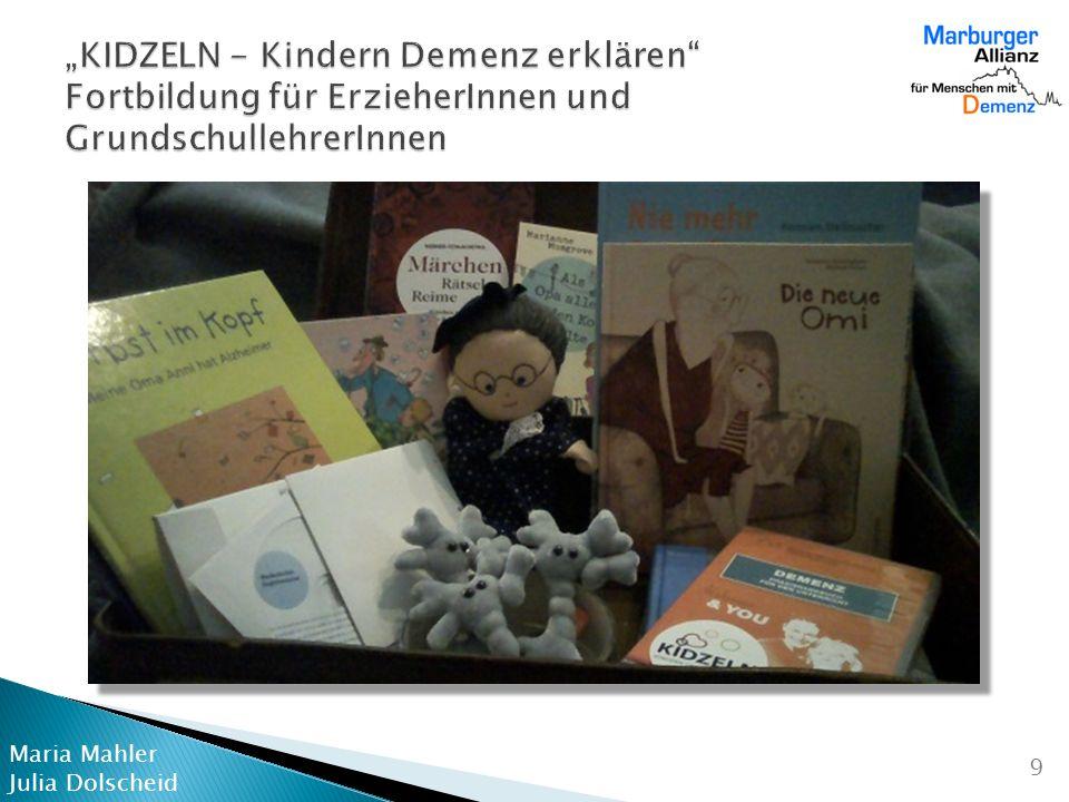 """""""KIDZELN - Kindern Demenz erklären Fortbildung für ErzieherInnen und GrundschullehrerInnen"""