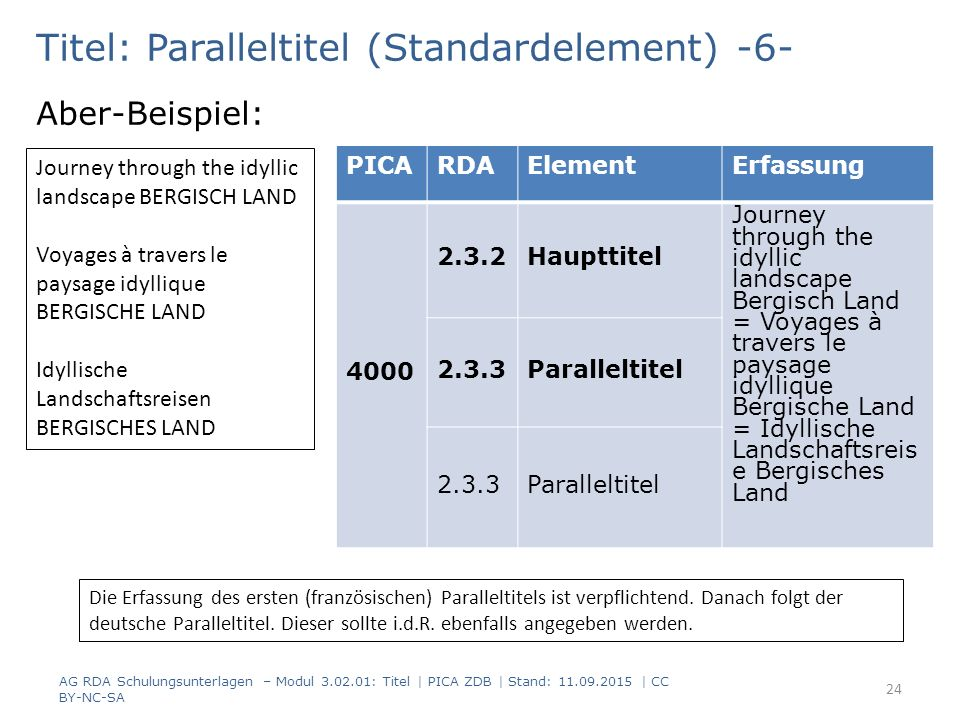 Titel: Paralleltitel (Standardelement) -6-