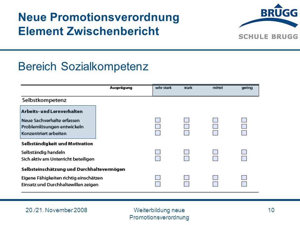 Neue Promotionsverordnung Element Zwischenbericht