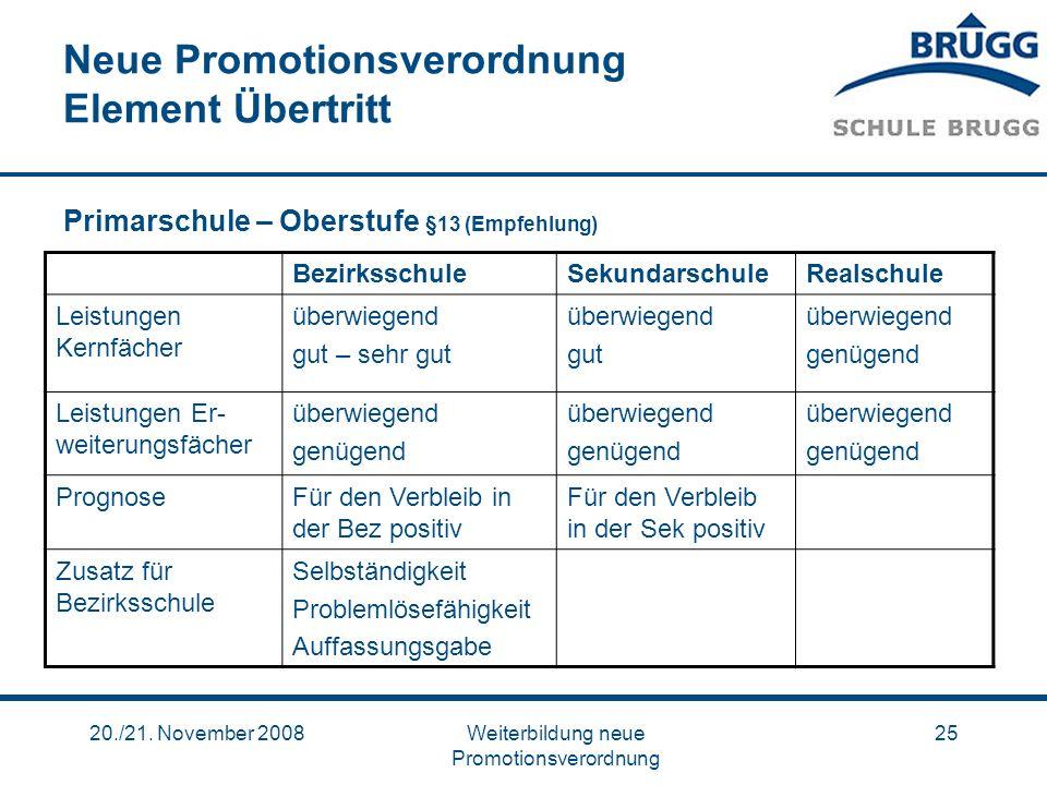 Neue Promotionsverordnung Element Übertritt