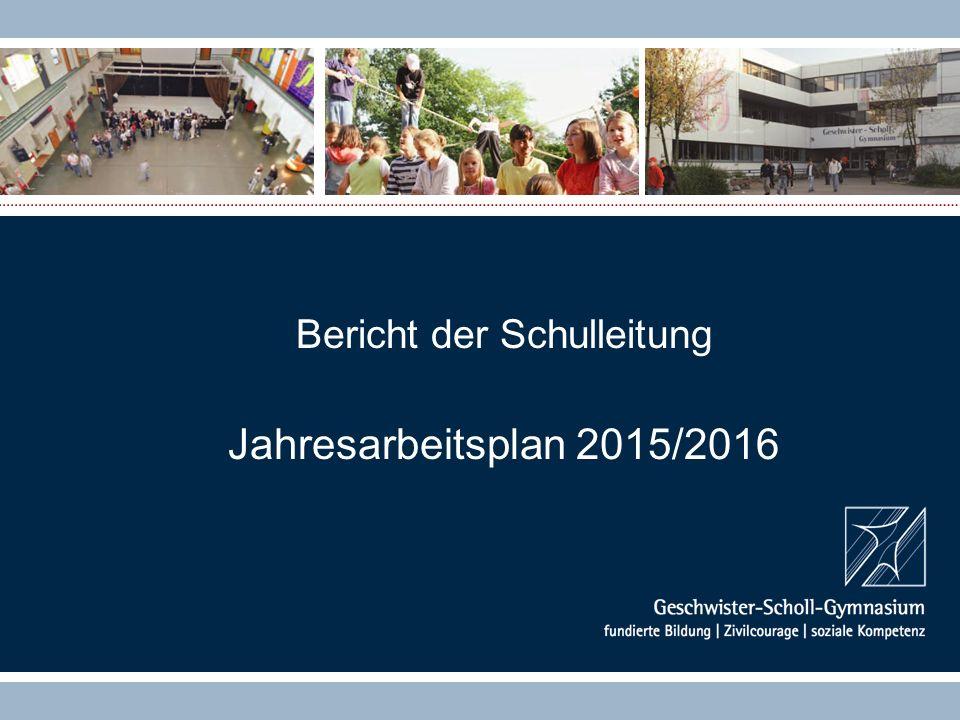 Bericht der Schulleitung