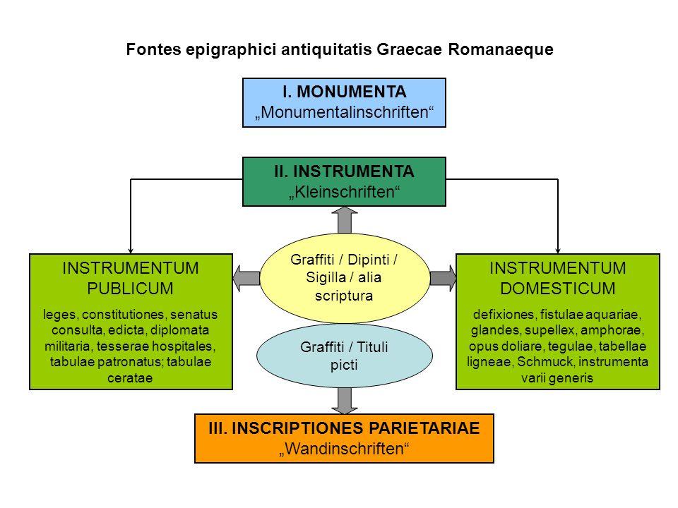 Fontes epigraphici antiquitatis Graecae Romanaeque