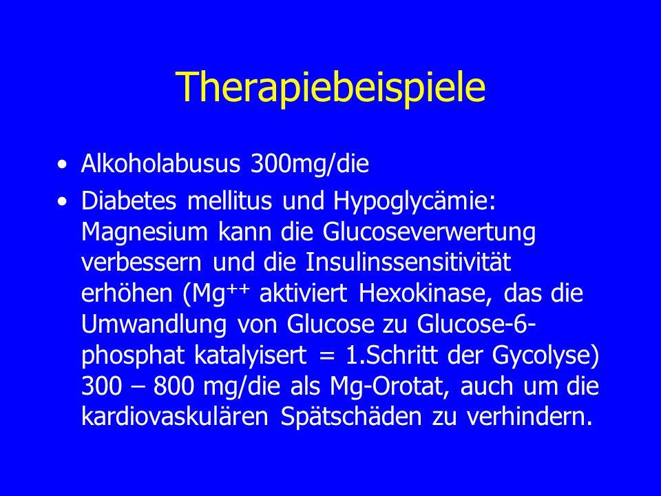 Therapiebeispiele Alkoholabusus 300mg/die