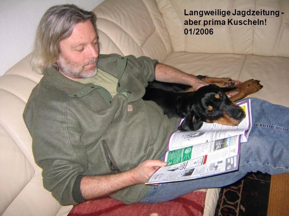 Langweilige Jagdzeitung -