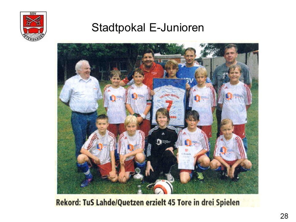 Stadtpokal E-Junioren