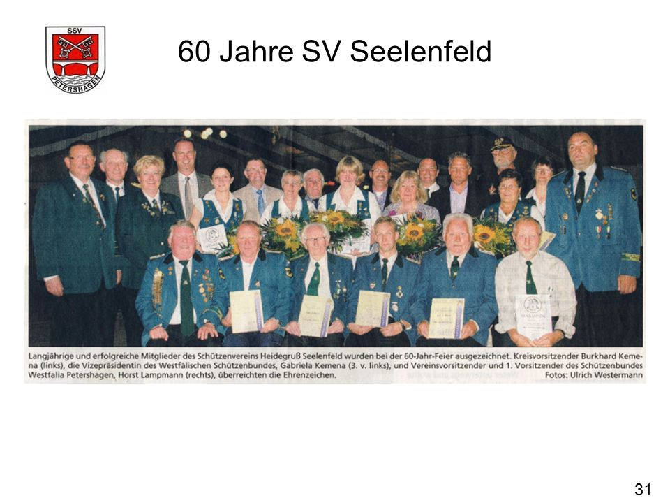 60 Jahre SV Seelenfeld 31