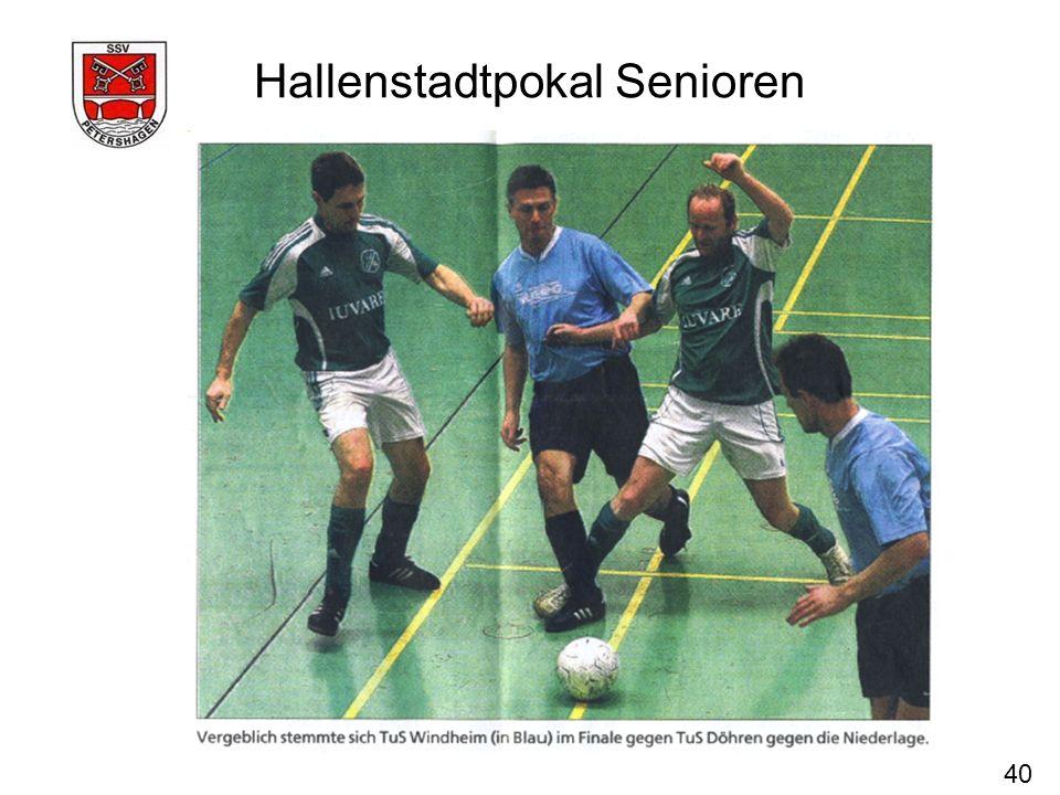 Hallenstadtpokal Senioren