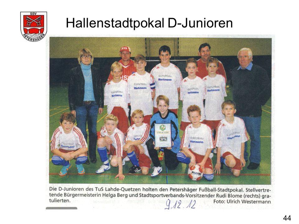 Hallenstadtpokal D-Junioren