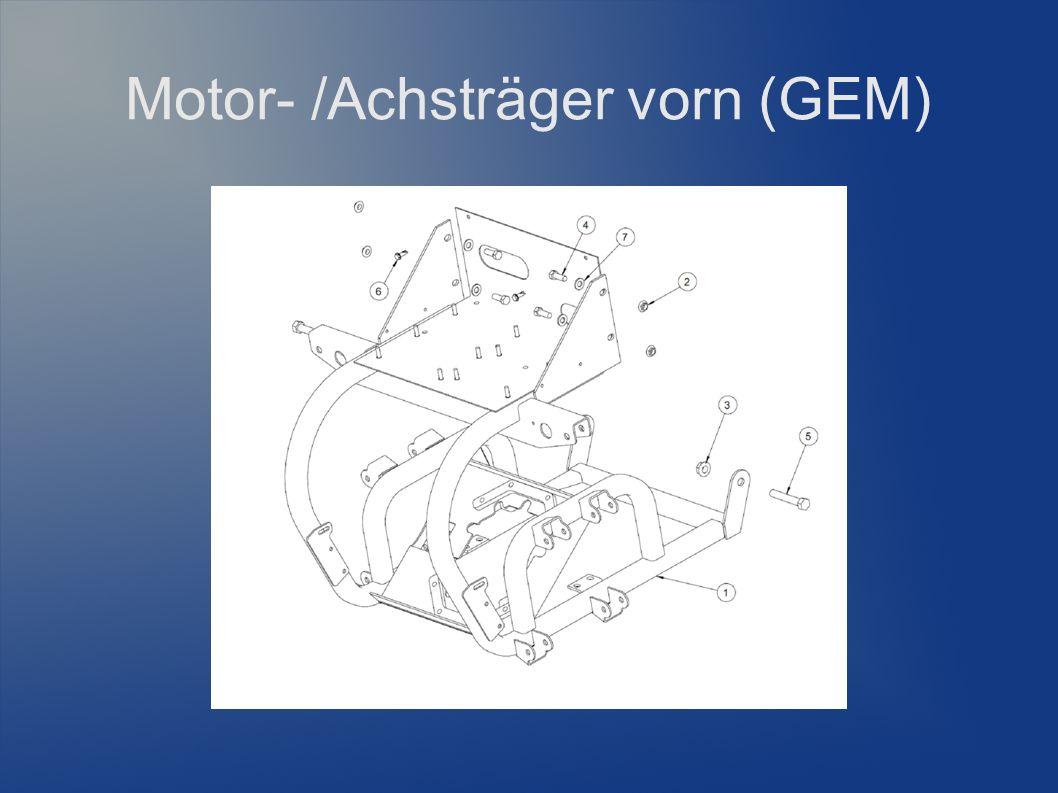 Motor- /Achsträger vorn (GEM)