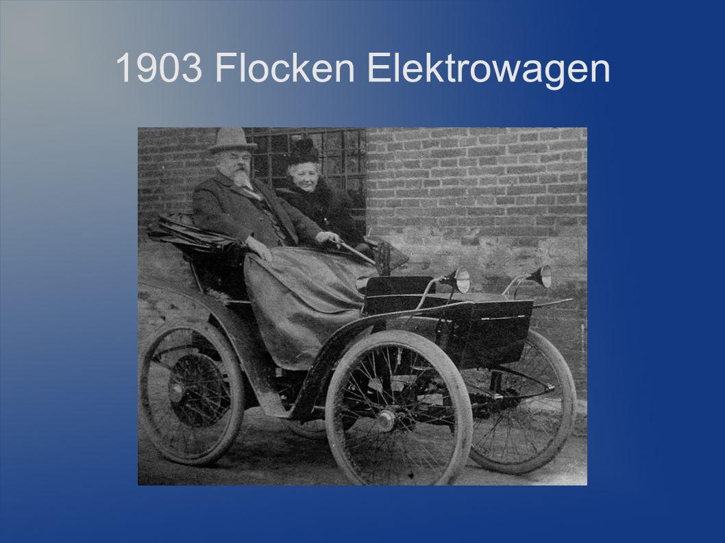 1903 Flocken Elektrowagen 15 Jahre Weiterentwicklung