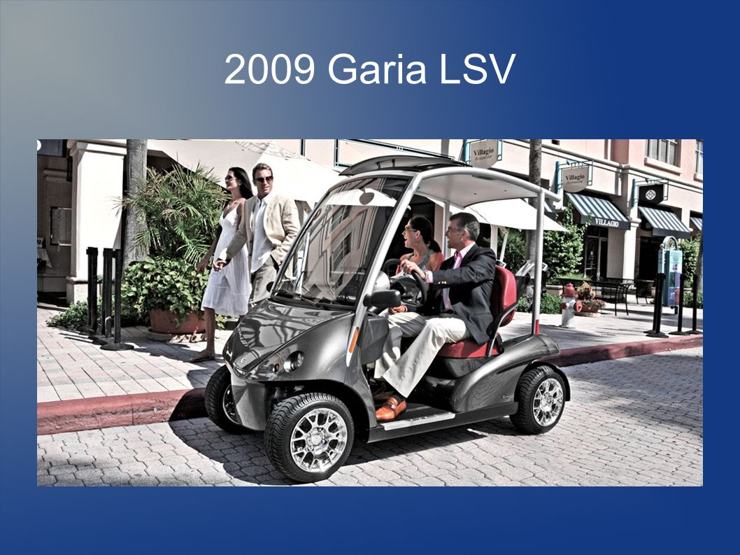 2009 Garia LSV Luxusfahrzeuge bis 50.000 $