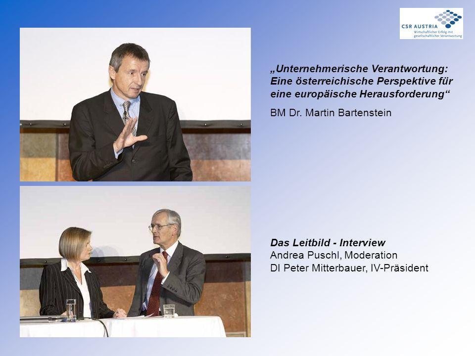"""""""Unternehmerische Verantwortung: Eine österreichische Perspektive für eine europäische Herausforderung"""