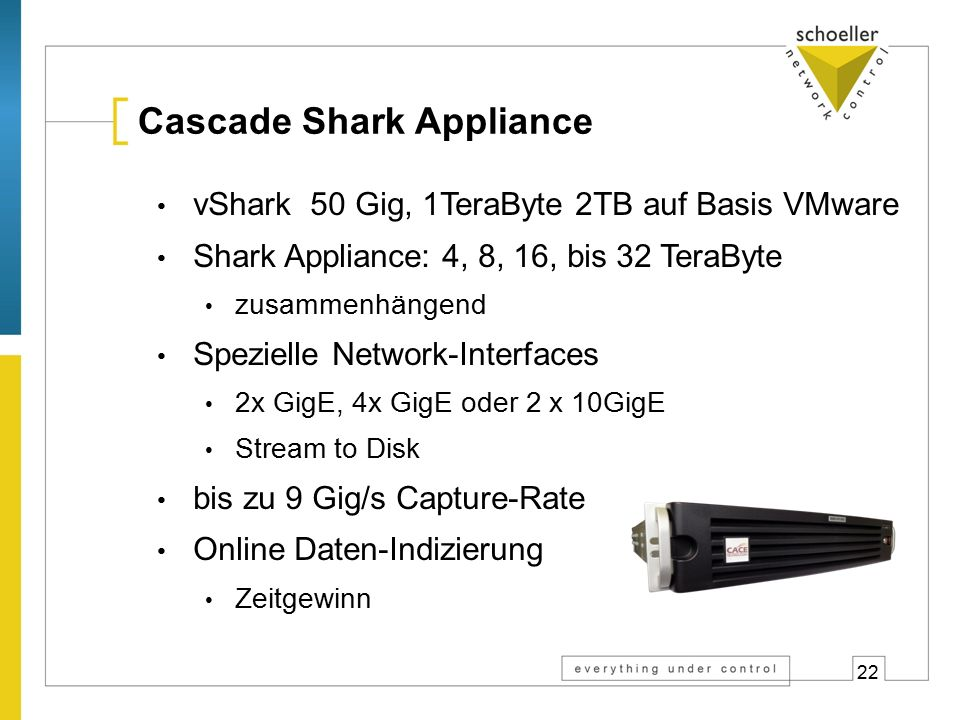 > 400.000 Defacto Standard weltweit Wireshark Downloads pro Monat: