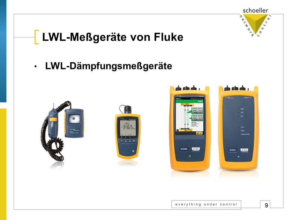 Fehlersuche by schoeller Theorie der LWL-Messung