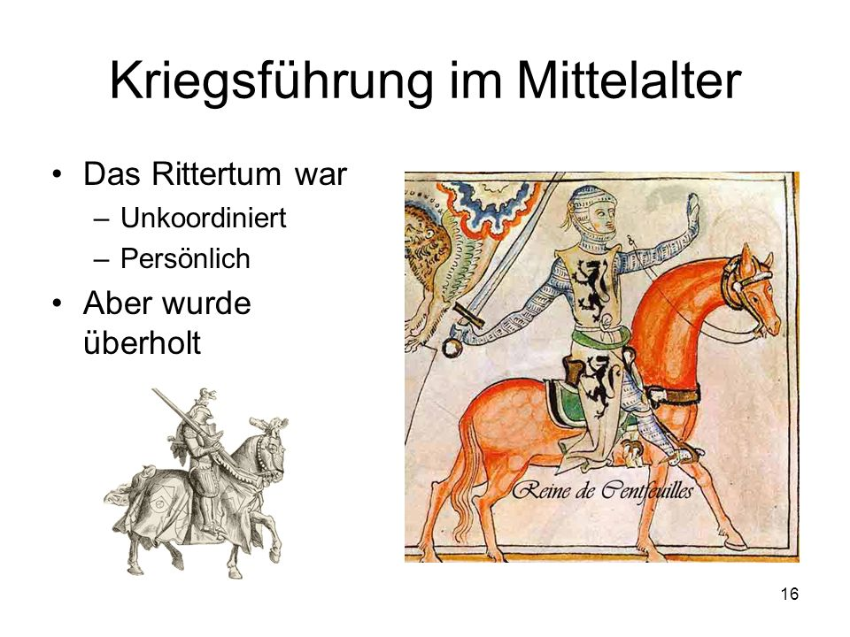 Kriegsführung im Mittelalter