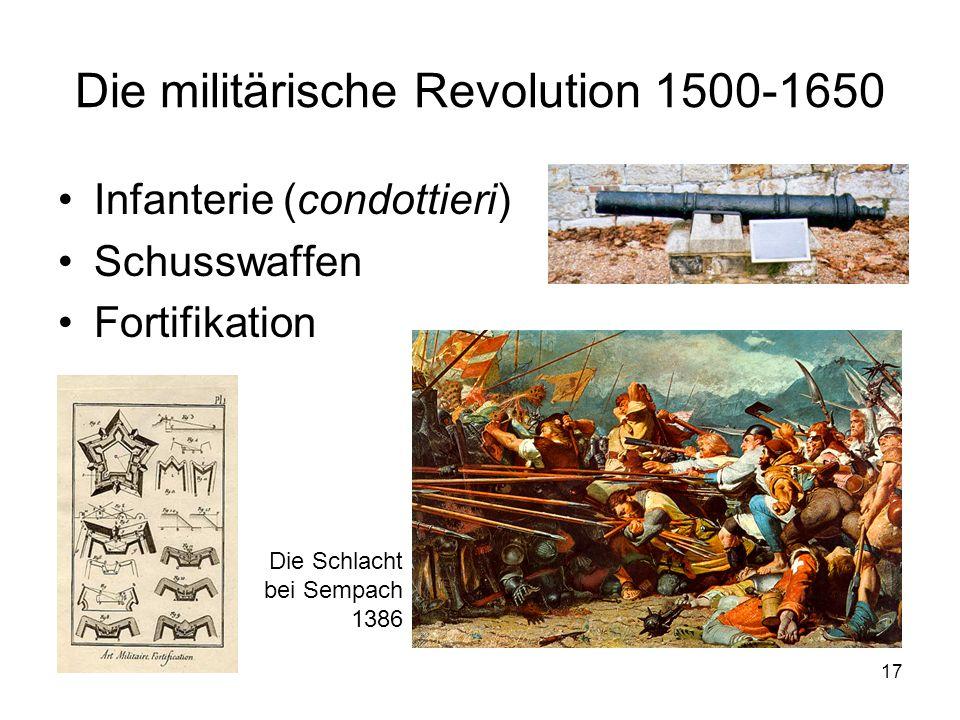 Die militärische Revolution 1500-1650