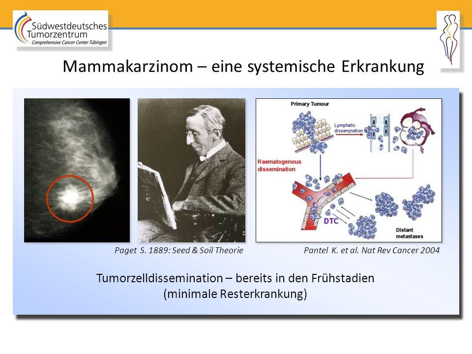 Mammakarzinom – eine systemische Erkrankung